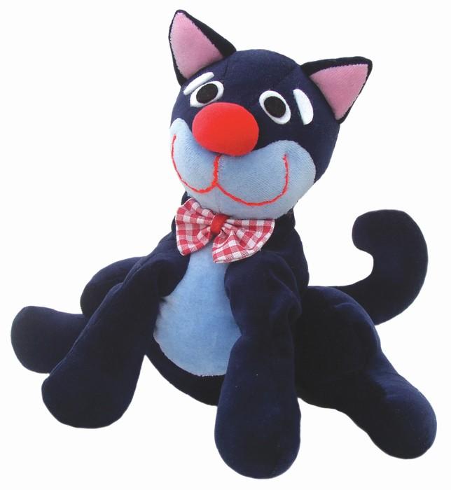 """Maňásek na ruku - Kočka (maňásek i """"plyšák"""")"""