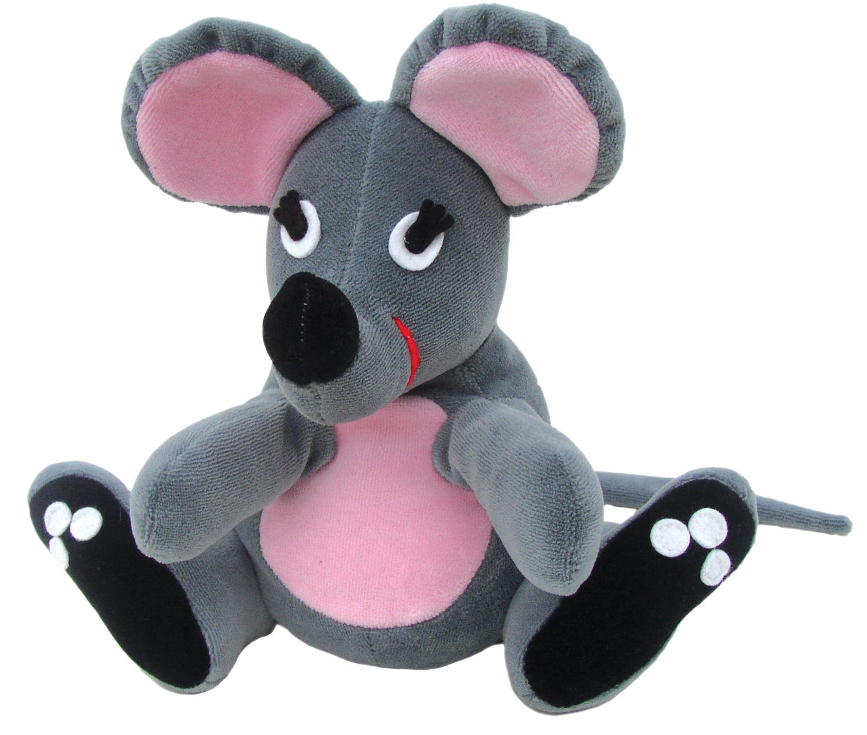 """Maňásek na ruku - Myška (maňásek i """"plyšák"""")"""