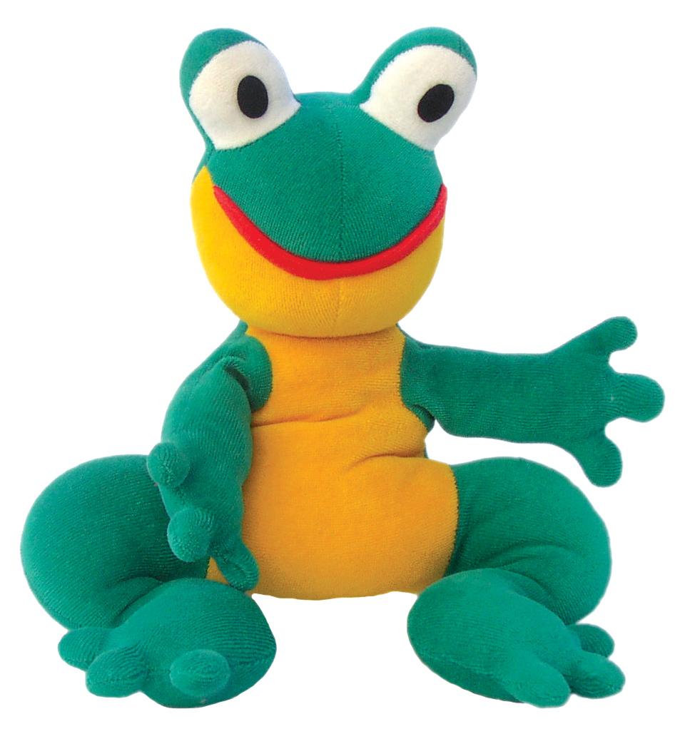 """Maňásek na ruku - Žabka (maňásek i """"plyšák"""")"""