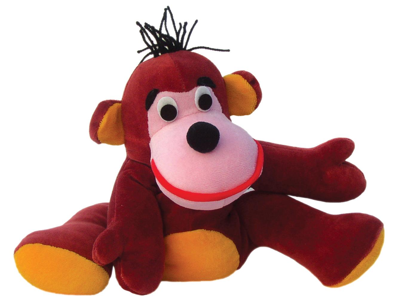 """Maňásek na ruku - Opička (maňásek i """"plyšák"""")"""
