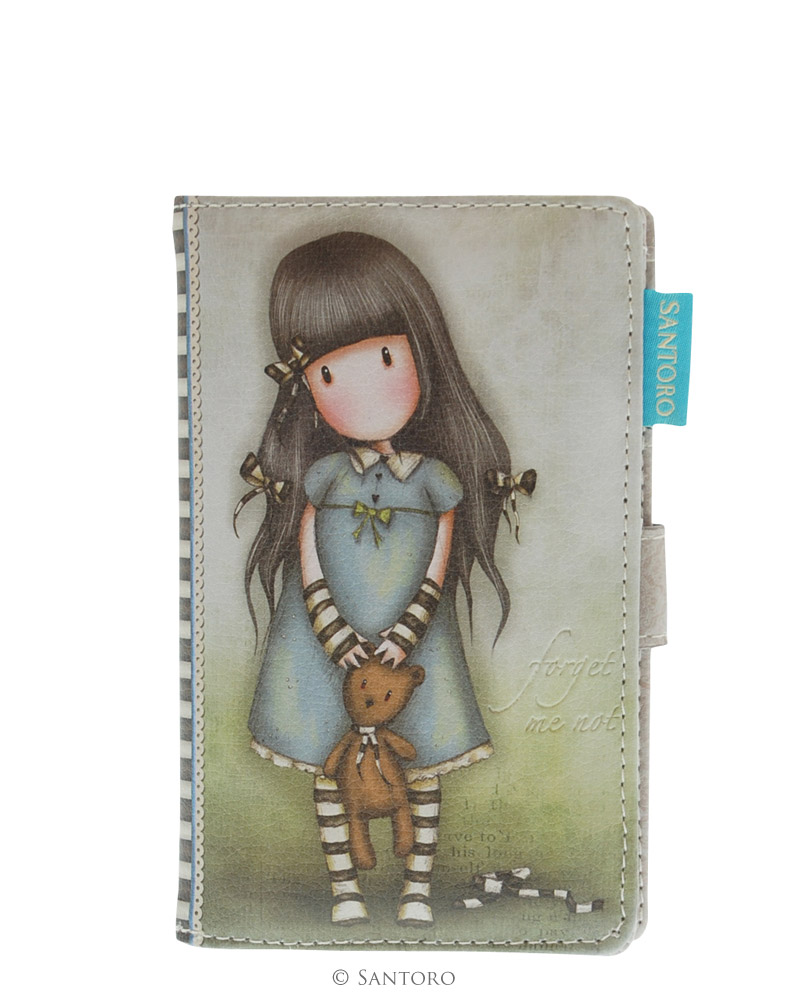 Menší peněženka Forget Me Not od firmy SANTORO Gorjuss
