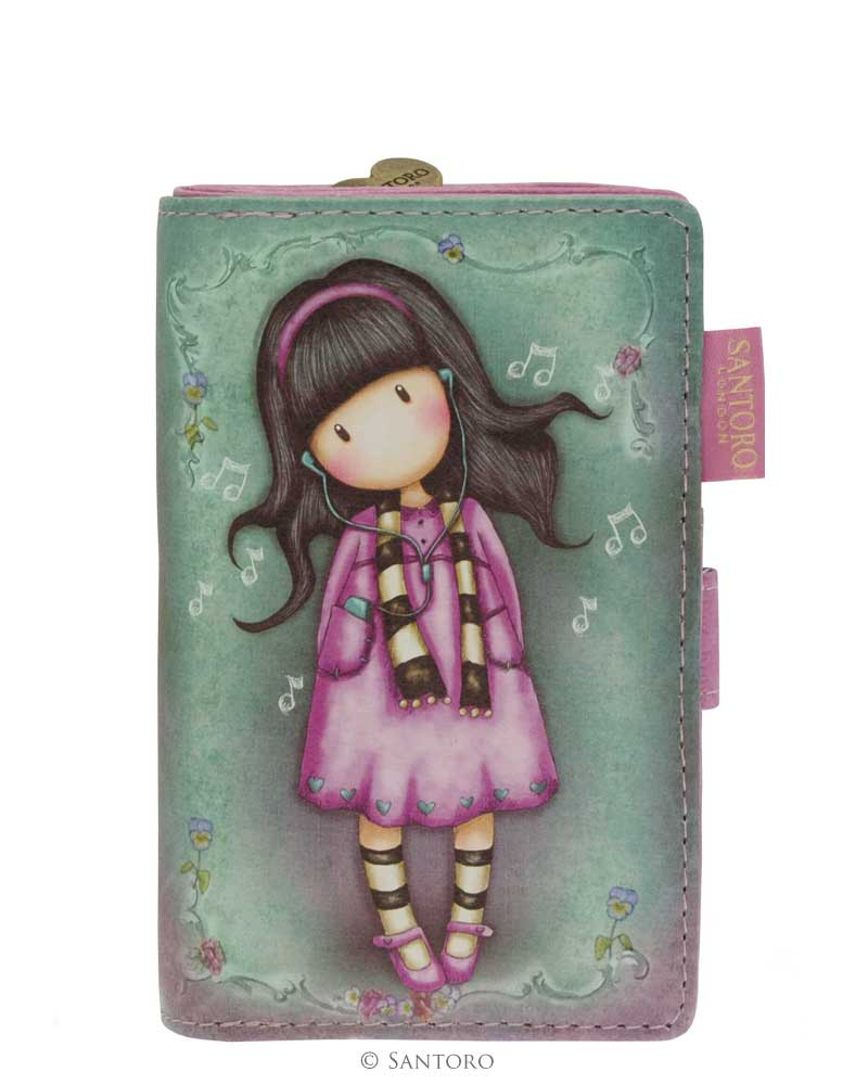 Menší peněženka Little Song od firmy SANTORO Gorjuss