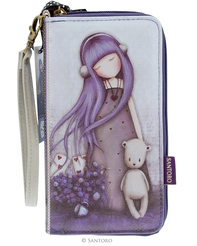 Peněženka na zip Dear Alice od firmy SANTORO Gorjuss