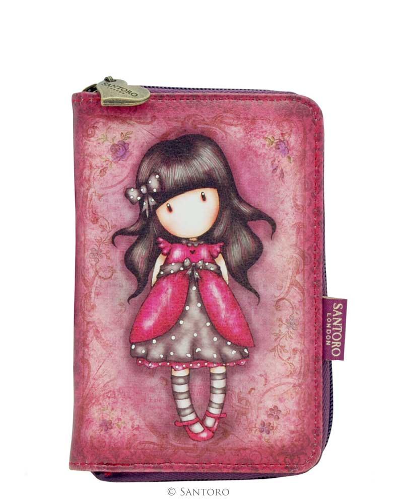 Peněženka na zip Ladybird od firmy SANTORO Gorjuss