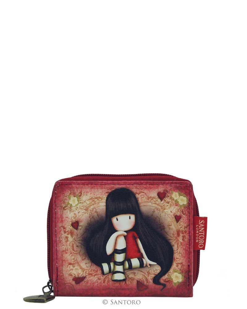 Malá peněženka na zip The Collector od firmy SANTORO Gorjuss