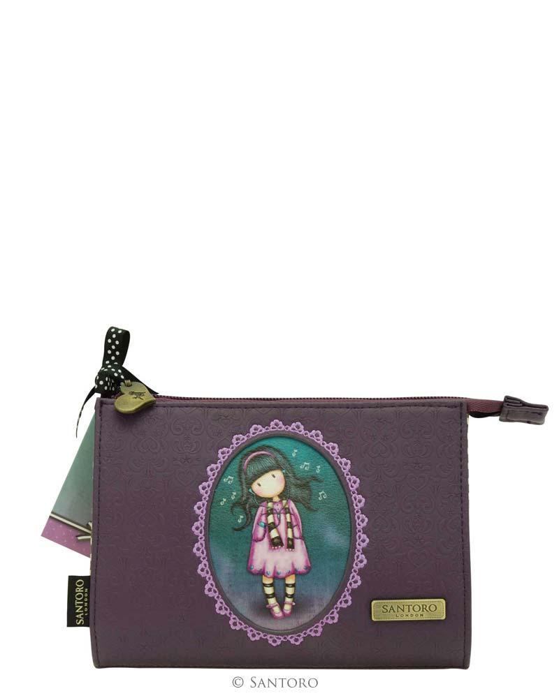 Reliéfová peněženka - Little Song od firmy SANTORO Gorjuss