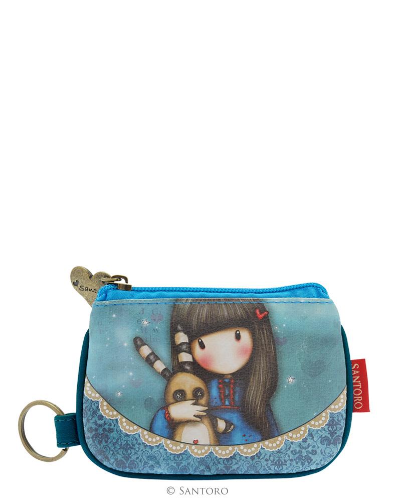 Peněženka i klíčenka Hush Little Bunny od firmy SANTORO London Gorjuss