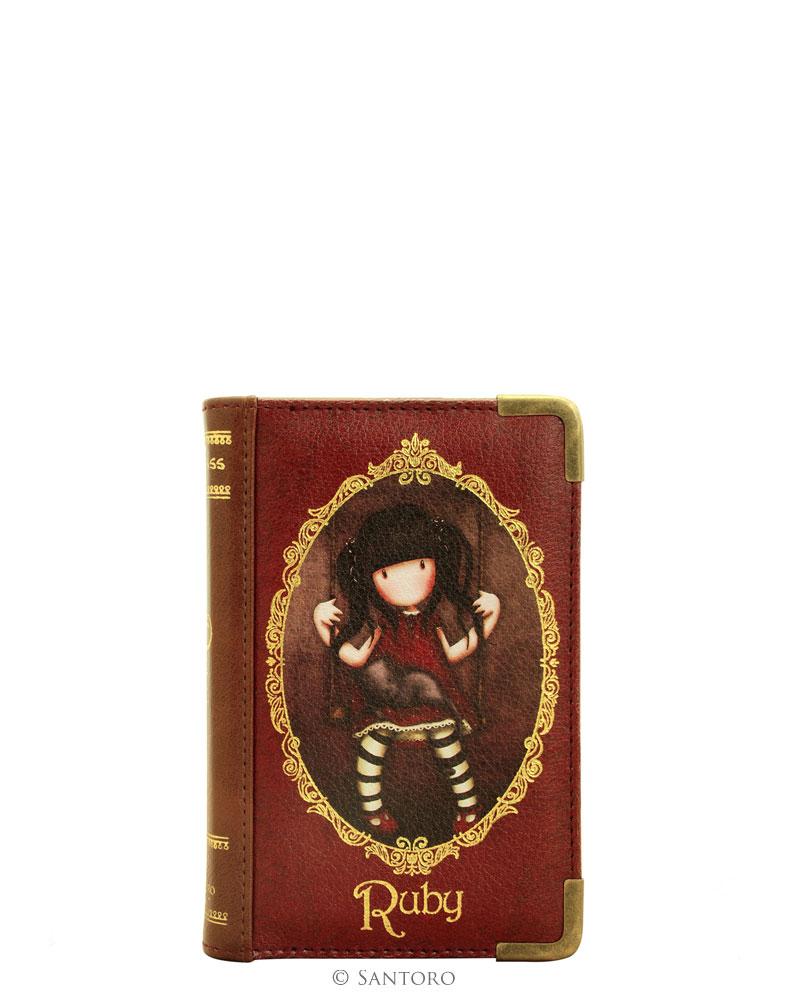 Peněženka ve tvaru knihy - Ruby od firmy SANTORO Gorjuss