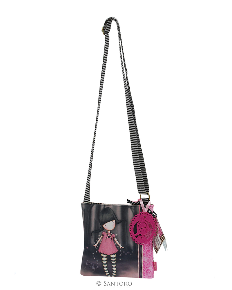 Malá kabelka přes rameno - Fairy Lights od firmy SANTORO Gorjuss (Gorjuss Small Shoulder Bag - Fairy Lights)