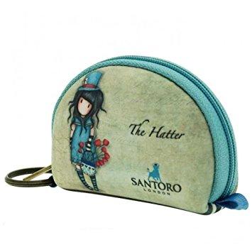 Peněženka i klíčenka The Hatter od firmy SANTORO Gorjuss