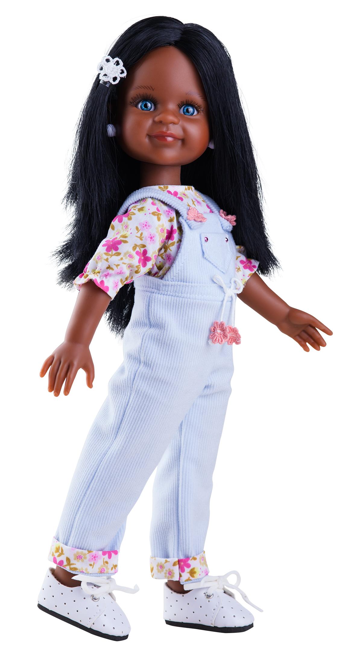 Realistická panenka Cleo africana od f. Paola Reina ze Španělska