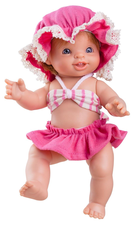 Realistická panenka Paolita Hilda v plavkách od firmy Paola Reina ze Španělska