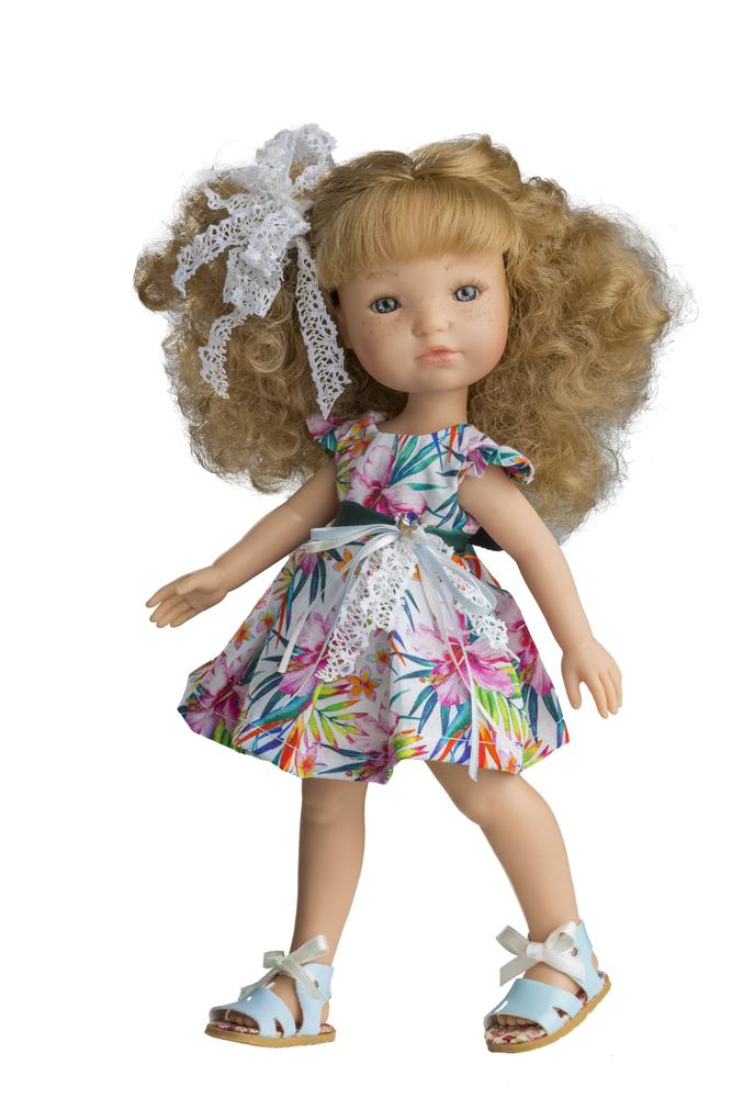 Fotografie Realistická panenka Inka v letním od firmy Berjuan