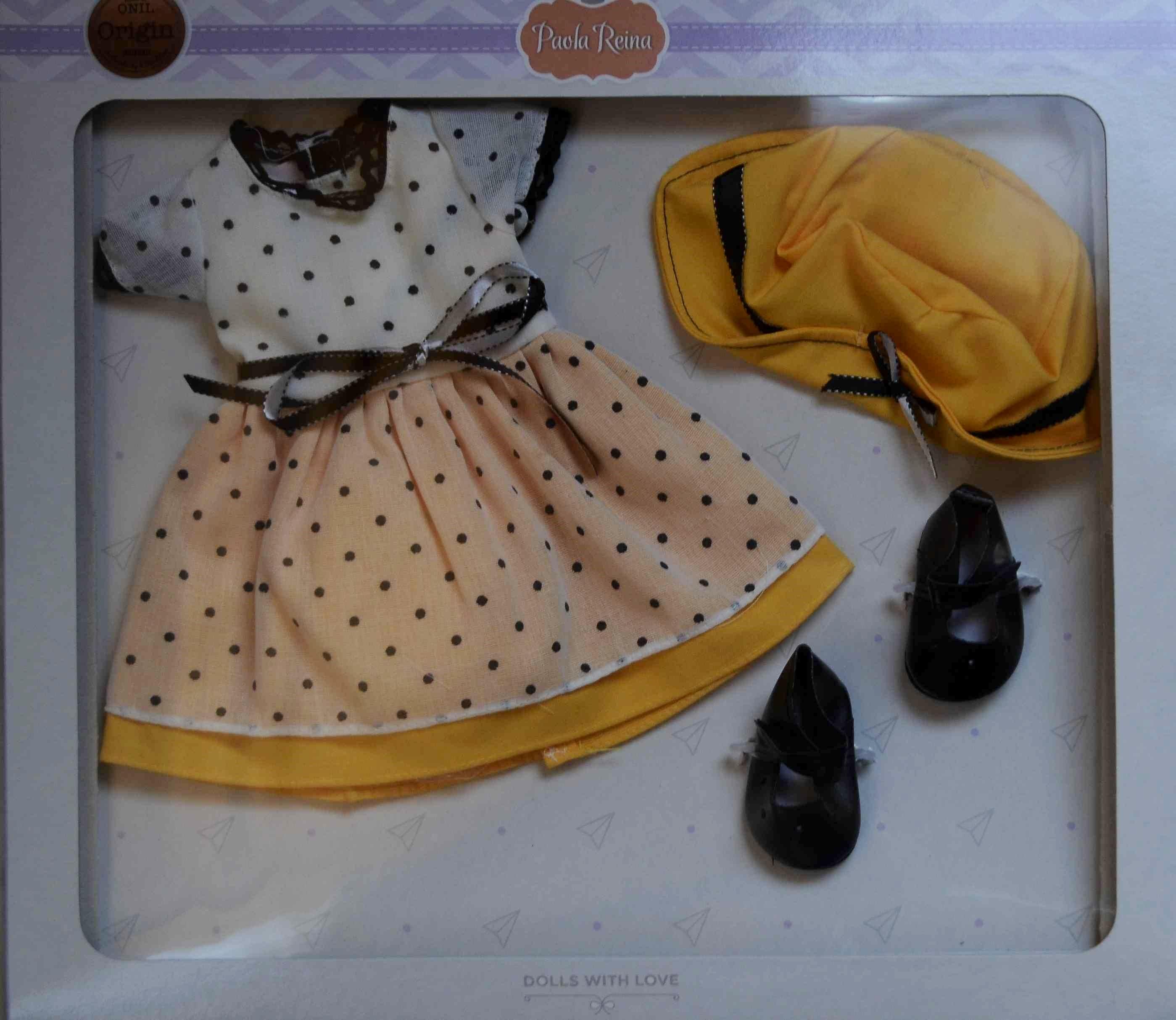 Sada na panenku Emmu (Obleček + boty)