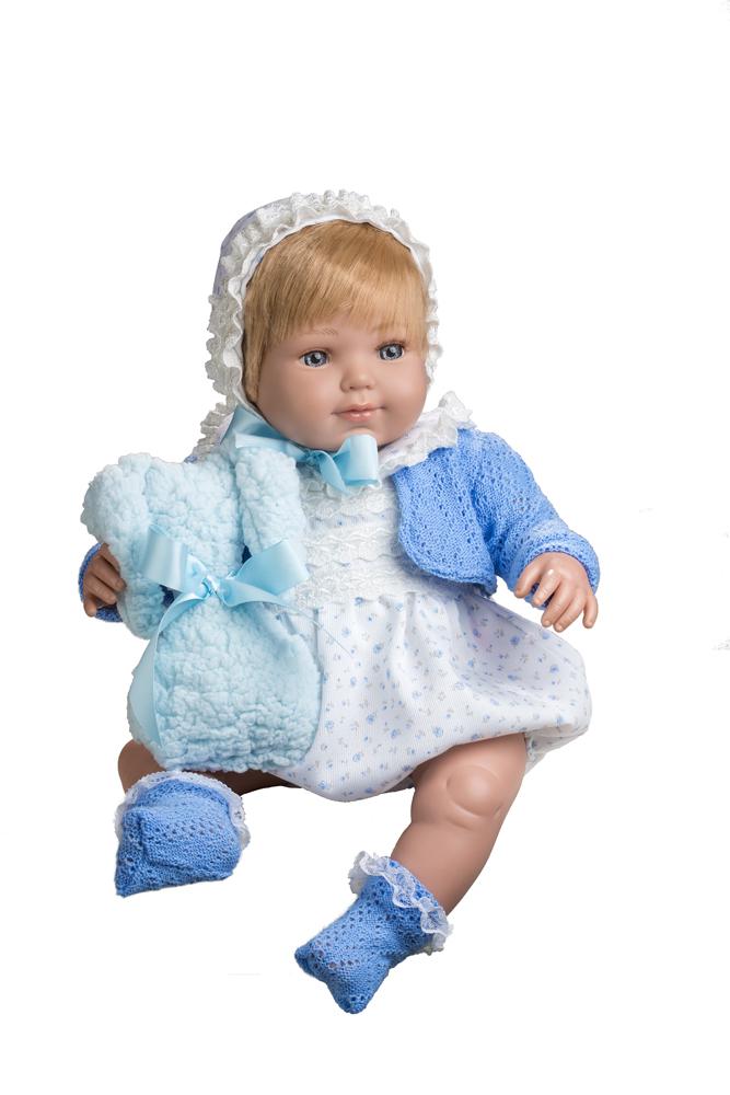 Realistická panenka chlapeček Dominik od firmy Berjuan ze Španělska (Doprava zdarma)