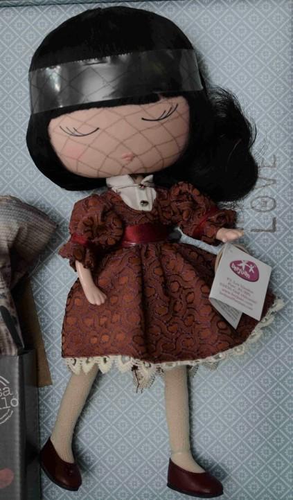 Panenka Anekke Sweet od firmy Berjuan (Španělské panenky)