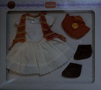 Sada na panenku Emily 06008 (Obleček + boty)