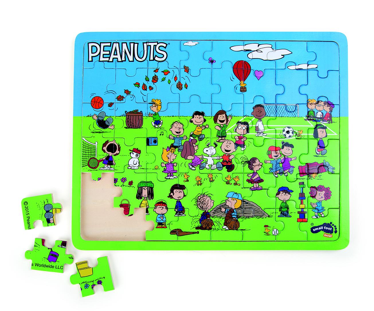 "Peanuts Puzzle ""HŘIŠTĚ"""