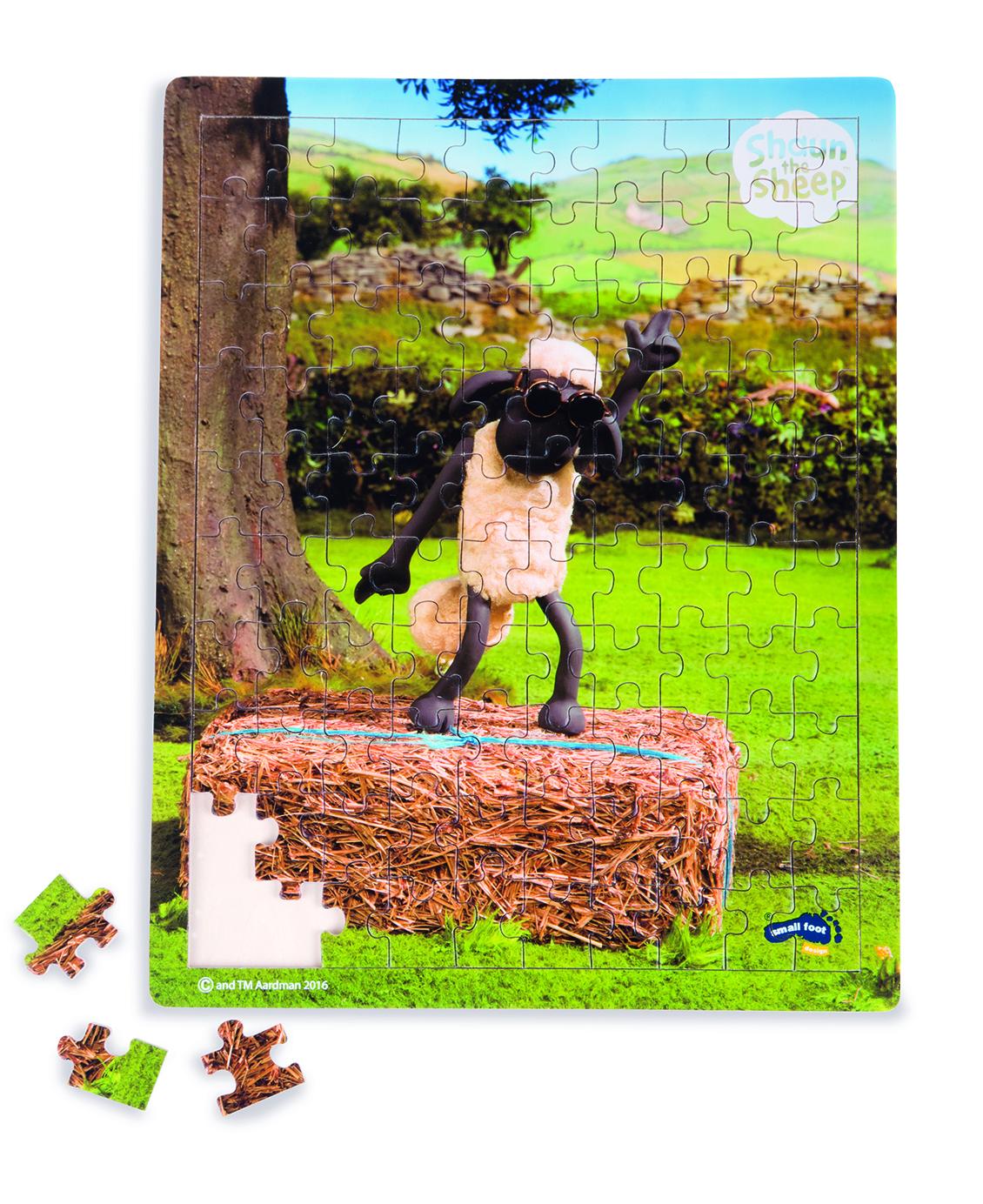 """Puzzle s ovečkou SHAUN - """"Taneční lekce"""""""