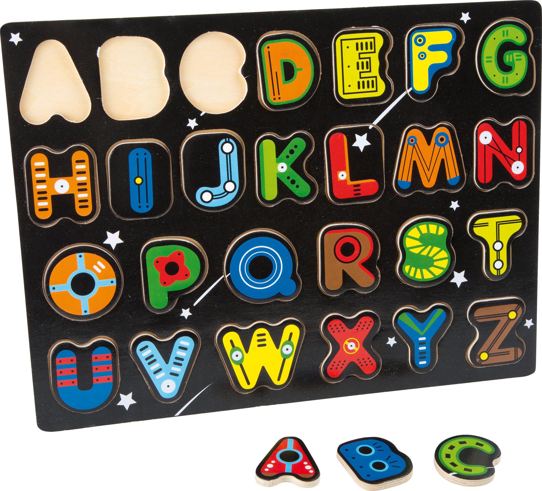 """Vkládací puzzle """"PÍSMENKA"""""""