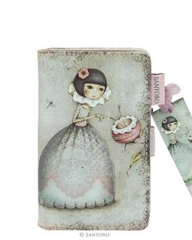 """Menší peněženka """"Zvědavost"""" od firmy SANTORO Mirabelle"""