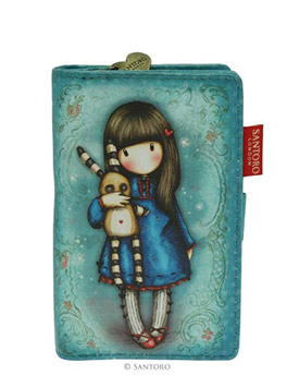 Menší peněženka Hush Little Bunny od firmy SANTORO Gorjuss