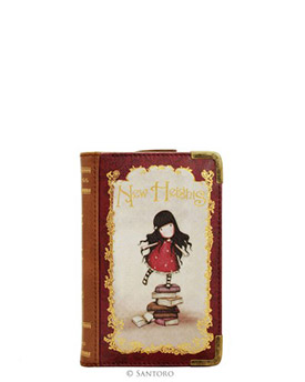 Peněženka ve tvaru knihy - New Hights od firmy SANTORO Gorjuss