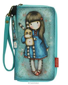 Větší peněženka na zip Hush Little Bunny od firmy SANTORO Gorjuss