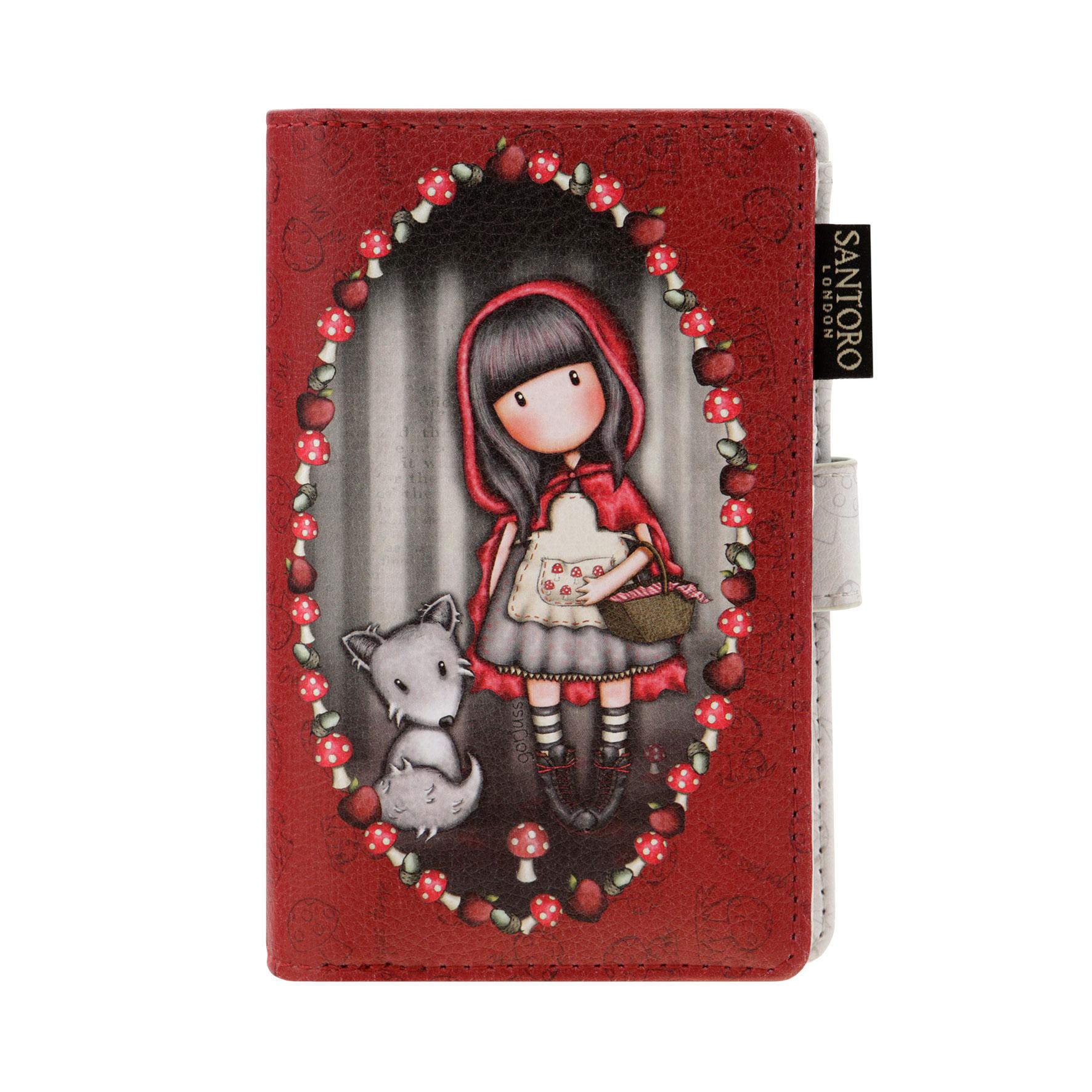Menší peněženka Little Red Riding Hood od firmy SANTORO Gorjuss