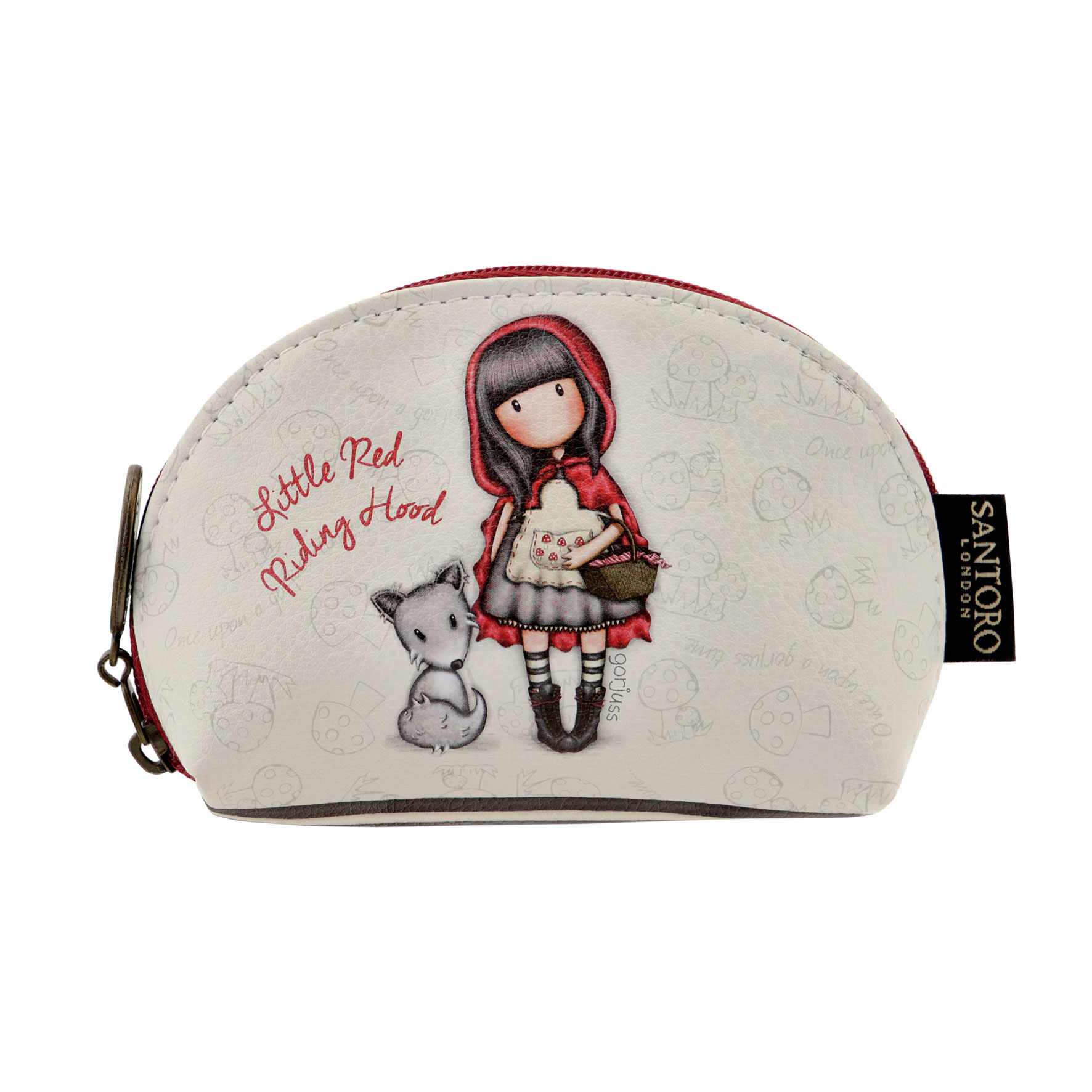 "Malá peněženka na zip ""Little Red Riding Hood""od firmy SANTORO Gorjuss"