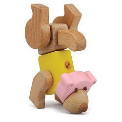 Dřevěné hračky - Hravá stavebnice Moje ZOO - Medvěd Podrobné informace (Dřevěné hračky - Stavebnice Moje ZOO - Medvěd)