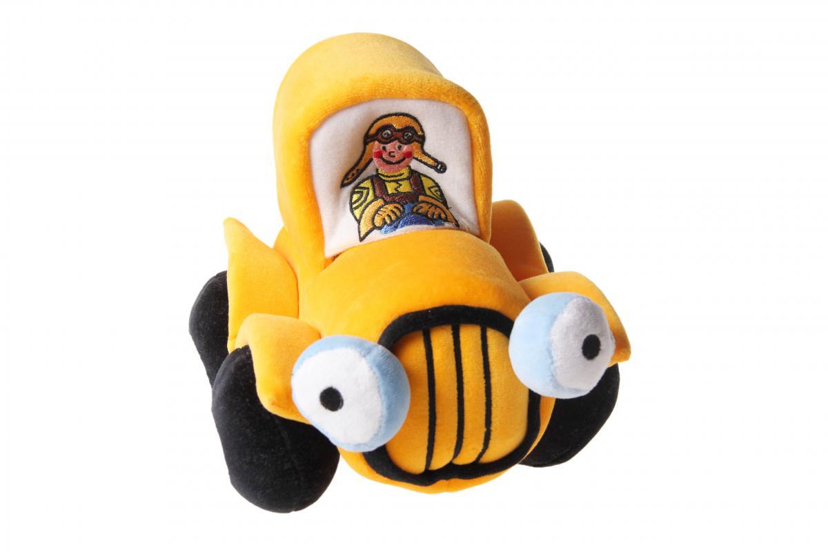 Maňásek na ruku - Michalovo autíčko od firmy Noe (Autíčko startuje, jede a troubí)