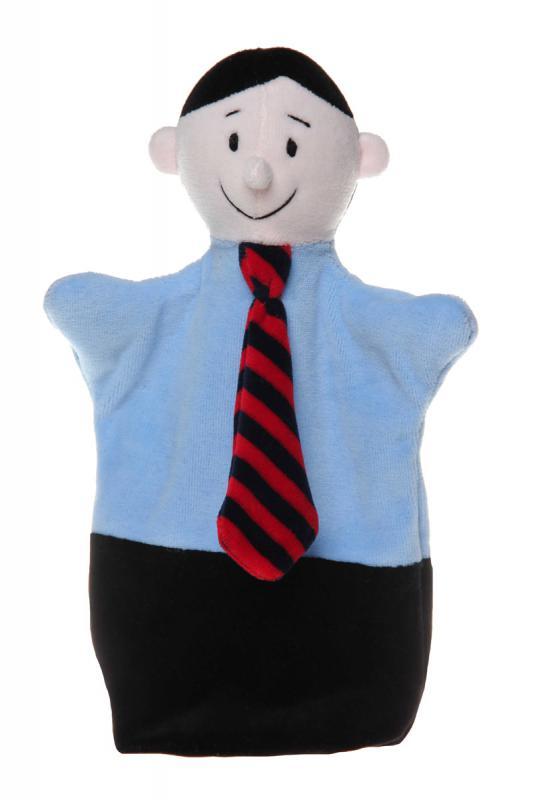 Maňásek na ruku - maňásek profese - manager od firmy NOE