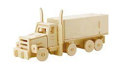 Robotime dřevěné skládačky 3D puzzle - Truck