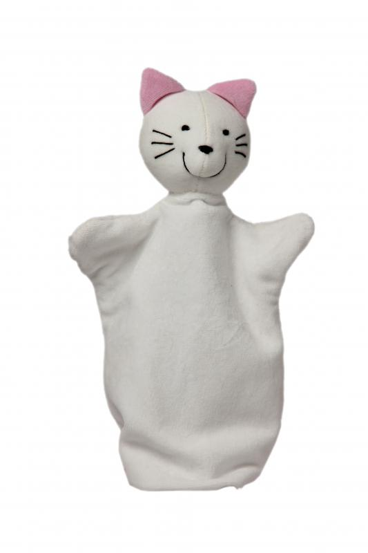 Maňásek na ruku - pohádkový maňásek - Kočička od firmy NOE