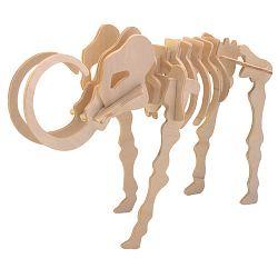 Dřevěné 3D puzzle skládačka - dinosauři - Mamut J011 (Dřevěné 3D puzzle dřevěná skládačka dinosauři Mamut J011)
