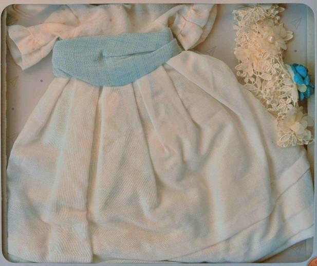 Obleček pro Emmu v bílém