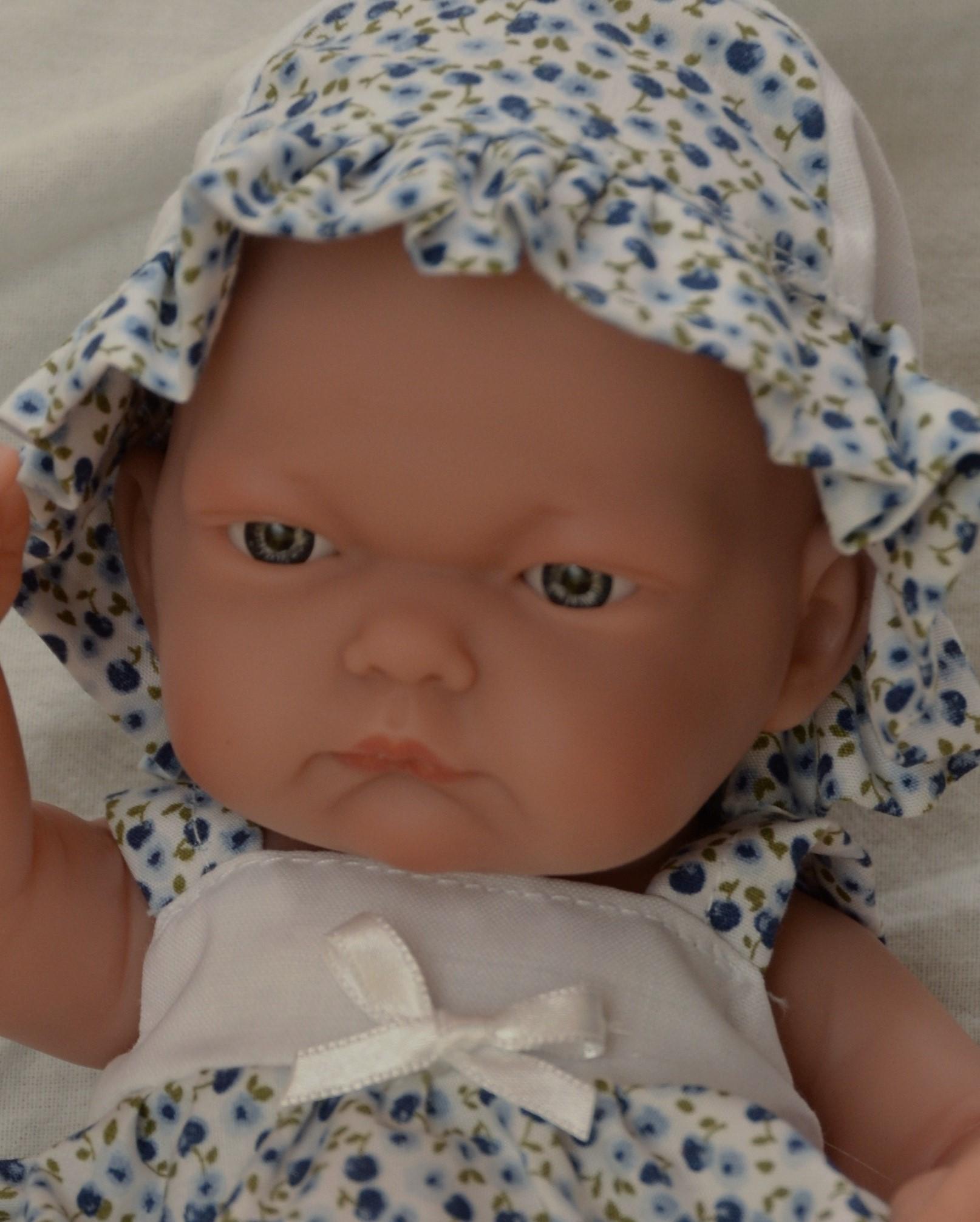Realistické miminko Antonio Juan - holčička Pitu - Květa