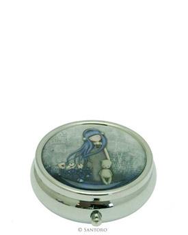 "Plechová krabička na léky - ""Dear Alice"" od firmy SANTORO London Gorjuss (Gorjuss Pill Box - ""Dear Alice"")"