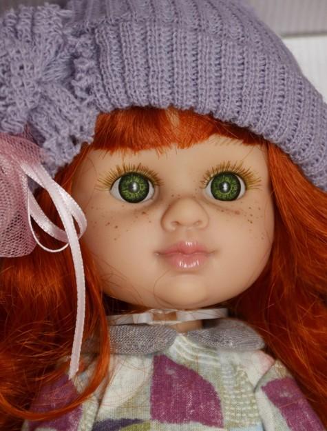 Realistická panenka holčička Zuzanka - zrzavé vlásky od firmy Berjuan
