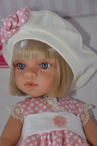 Realistická panenka - Emily primavera -světlé vlásky (Doprava zdarma)