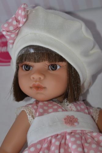 Realistická panenka - Emily primavera -tmavé vlásky