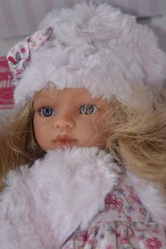 Realistická panenka Antonio Juan - Emily invierno -světlé vlásky (Doprava zdarma)