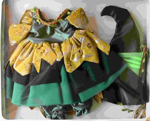 Obleček na čarodějku
