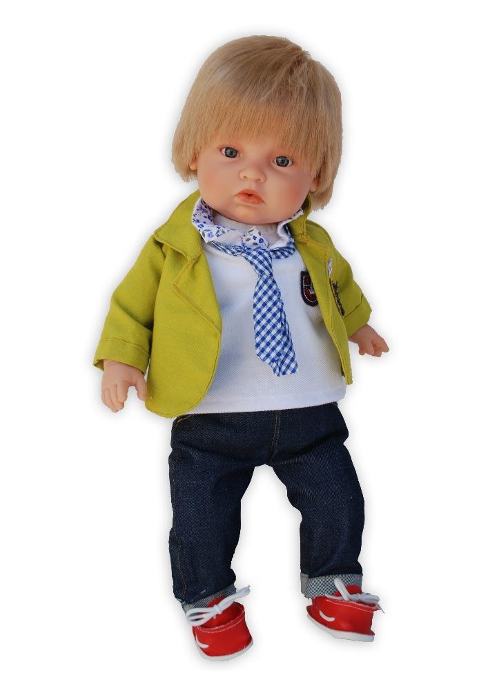 Realistická panenka chlapeček Benet od firmy Endisa ze Španělska (Doprava zdarma)