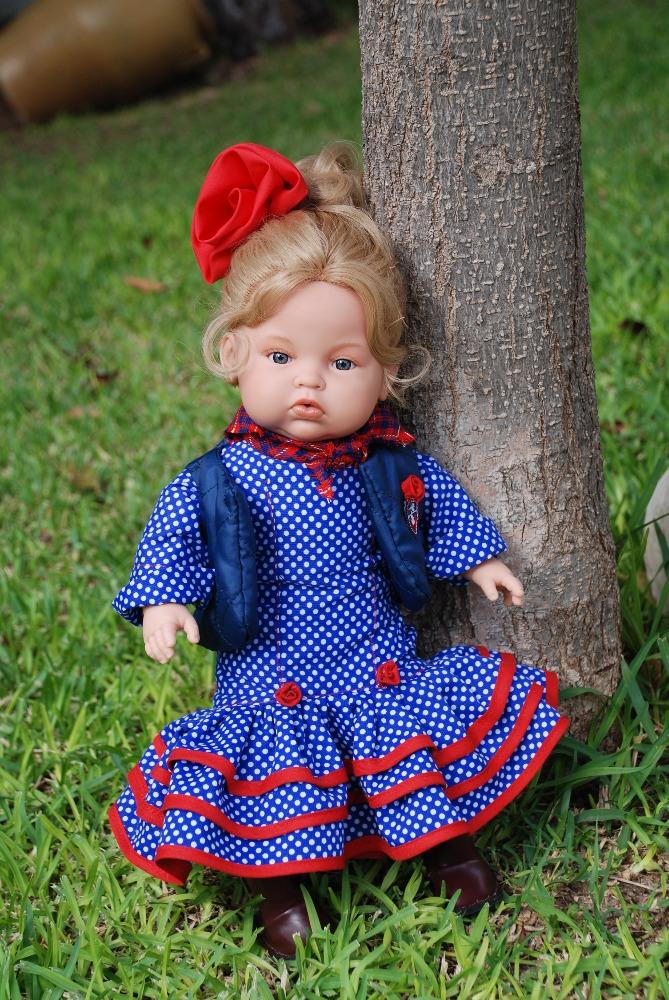 Realistická panenka holčička Cayetana od firmy Endisa ze Španělska
