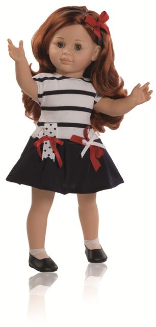 Maia (47cm) -od Paola Reina se zabudovanou kostřičkou v těle