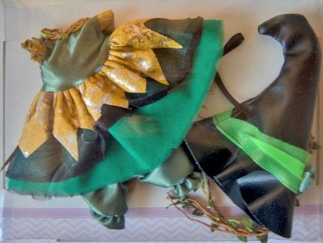 Obleček na zelenou čarodějku