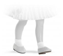 Fotografie Bílé nízké boty