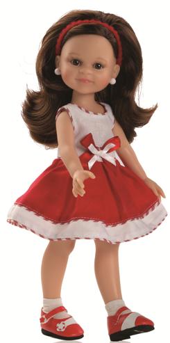 Realistická panenka Via od f. Paola Reina ze Španělska (Doprava od 35 Kč)